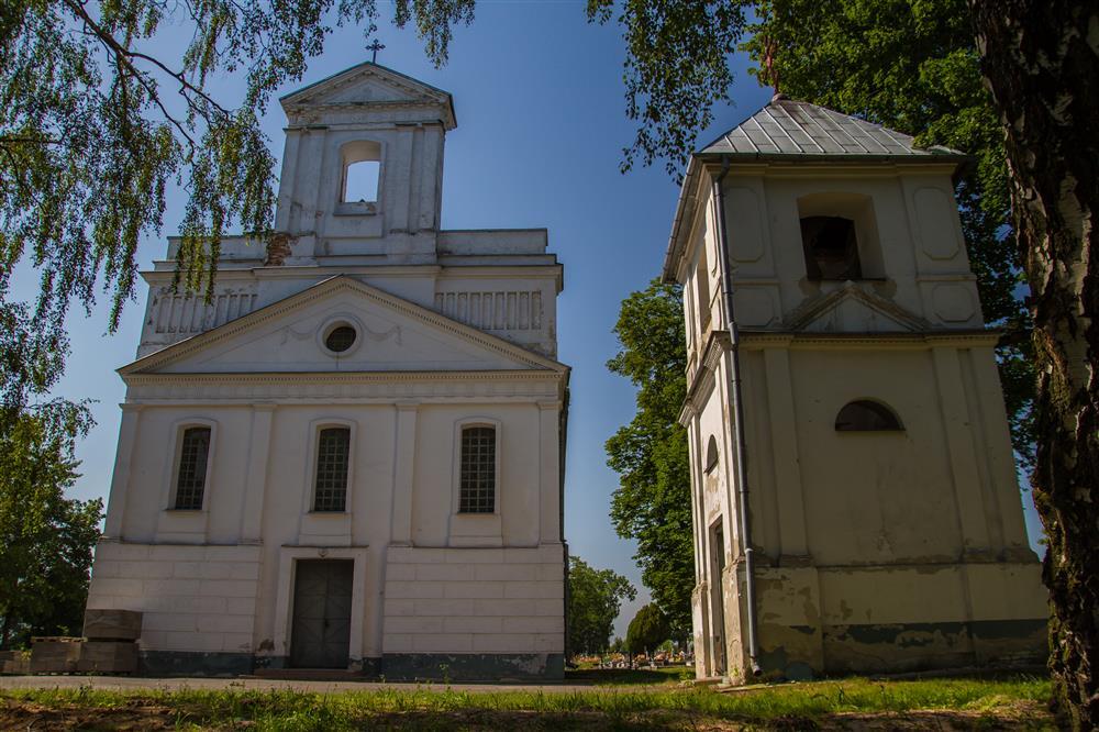 Dawma cerkiew unicka pw. Michała Archanioła z dzwonnicą w Rejowcu