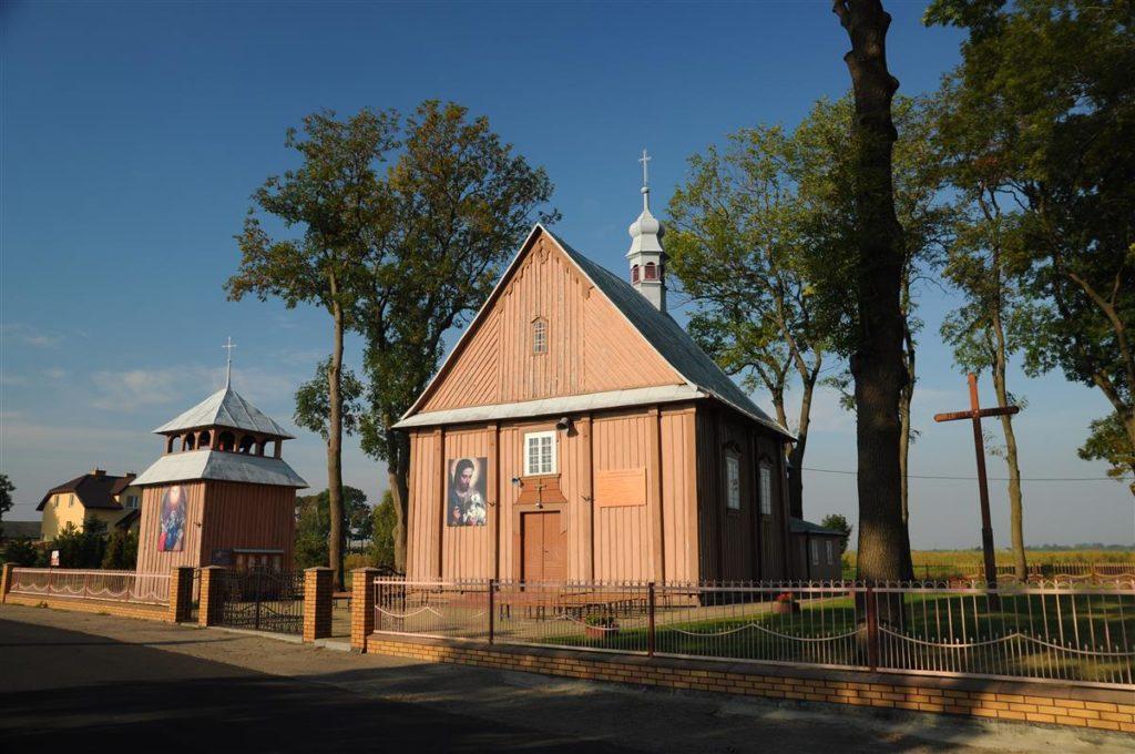 Pounicki, drewniany kościół pw Wszystkich Świetych w Depultyczach
